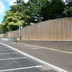 Retaining-walls-at-York-College-for-Moortown-Construction